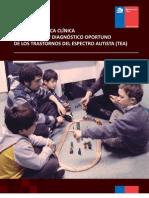 Guía de Práctica Clínica de detección y diagnóstico oportuno del Trastorno del Espectro Autista,TEA.