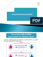 Activité Marketing Mobile