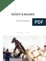Calculo de Peso y Balance