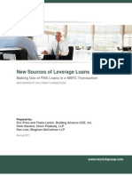 New Sources of Leverage Loans