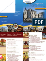 Menus Valarep Fortier 2011-2012