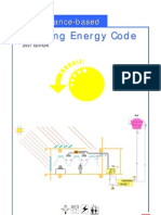 Performance Based Building Energy Code, 2007 (EMSD)