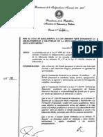Decreto 6.162 - Gratuidad de La Media