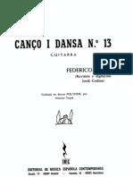 Mompou, F. (1893-1987)_Cançó i dansa nº 13_(J. Codina)
