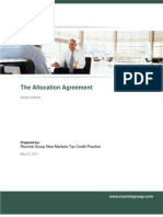 The Allocation Agreement
