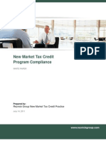 New Markets Tax Credit Program Compliance