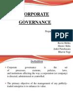Corporate Goverance