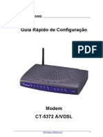 Manual Router Comtrend CT-5372 Gvt