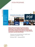 Adult Education Programs 2011-12