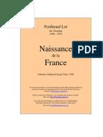 Naissance de La France_Lot