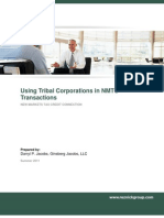 Using Tribal Corporations in NMTC Transactions