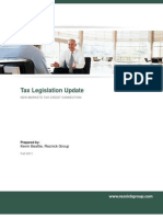 Tax Legislation Update