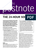 The 24-Hour Society by POST