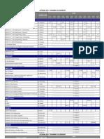 2011 Course Schedule