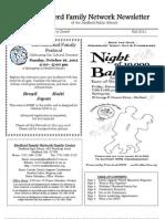 MFN Fall 2011 Newsletter