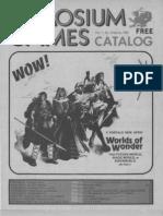 Chaosium Games Catalog Spring 1982