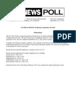 Fox News Poll September 28, 2011
