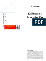 V. I. Lenin - El Estado y La Revolucion (1918)