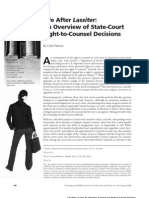 Claire Pastore Life After Lassiter an Overview of State-Court Right-To-Counsel Decisions
