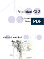 Motilidad Gastrointestinal 2