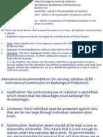 16 b) Protection Against Ionizing Radiation