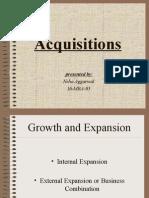 Acquisitions 1