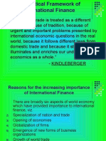 Theoretical Framework of International Finance