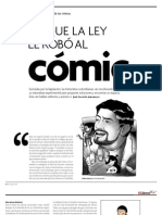 Lo que la ley le robó al cómic - II Parte