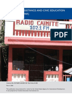Haiti Media Assistance and Civic Education