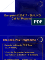 SMILING CfP Opening Session Update Feb 22