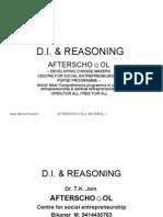 Reasoning and DI 12 September