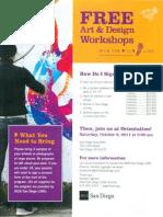 Art Design Workshops