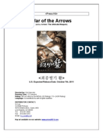Press Kit War of the Arrows Eng
