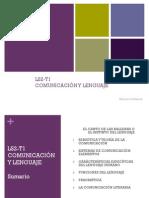 LS2-T1 Comunicación y lenguaje