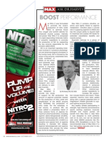 """[ASK DR. HARVEY]  """"Boost Performance with Nitro 2"""""""