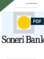 Final Report of Soneri Bank