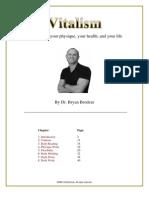 Vitalism Introduction