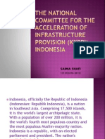 The National Committee for the Acceleration of Infrastructure