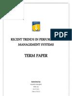 PMS Term Paper