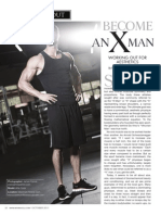"""""""BECOME AN X-MAN""""  Working Out For Aesthetics"""