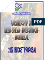 2007 Budget Proposal January 2007 English