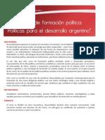 Programa Curso de Formación Fundación Contemporánea