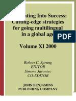 Translating Success