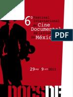 Programa DocsDF 2011