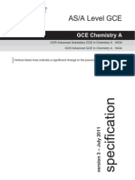 Gce Spec Chemistry