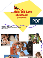 Middle and Late Childhood Milestones