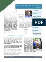 SAIS Southeast Asia Studies Newsletter-Spring 2011