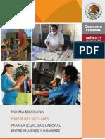 NMX Igualdad Laboral Entre Mujeres y Hombres