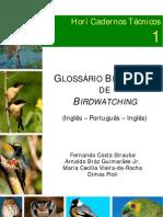 Glossario Das Aves Do Brasil Em Portugues