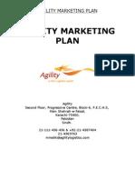Agility Marketing Plan